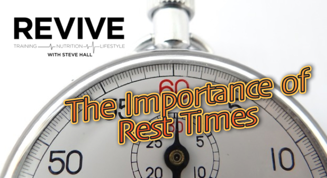 rest times importance stop watch