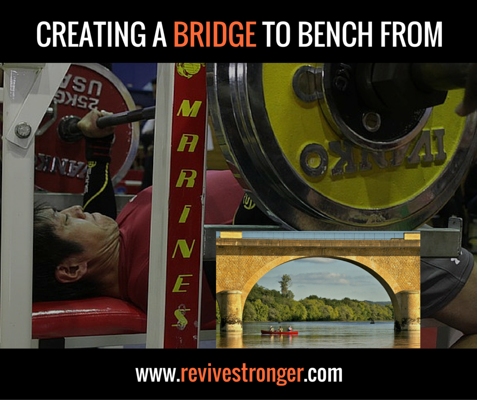 CREATING A BRIDGE TO BENCH FROM